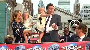 Jimmy Fallon's daughters steal the spotlight during dad's ...