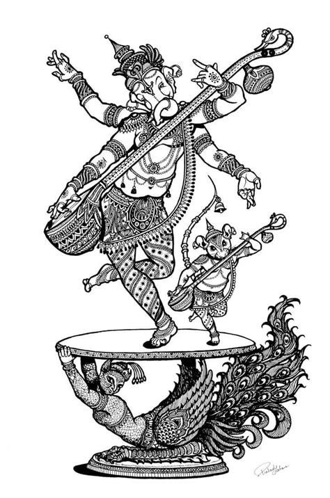 Pin by Santosh Patil on Pencil Art in 2019 | Ganesha art