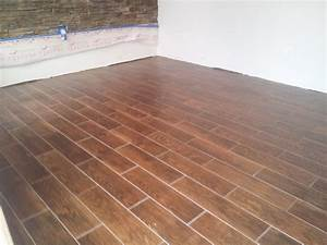 6quot X 24quot Floor Tile That Looks Like Wood Planking Above