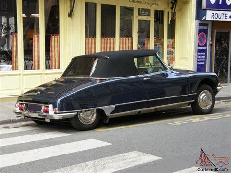 citroen classic ds citroen ds convertible car classics