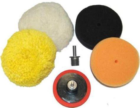 buffing pad kit  buff polishing pads polisher