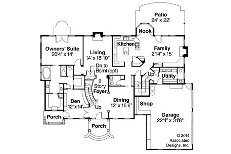 Colonial Floor Plans by Colonial House Plans Palmary 10 404 Associated Designs