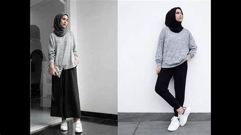 hijab casual style ootd youtube
