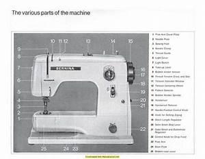 25 Bernina Sewing Machine Parts Diagram