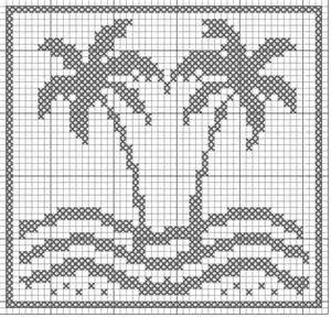 Free Filet Crochet Cross Patterns