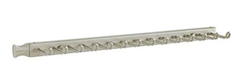 closetmaid belt and tie rack closetmaid 38053 14 hook tie belt rack nickel import