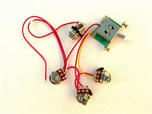 500k 5 Way Wiring Harness Kit For Fender Stratocaster