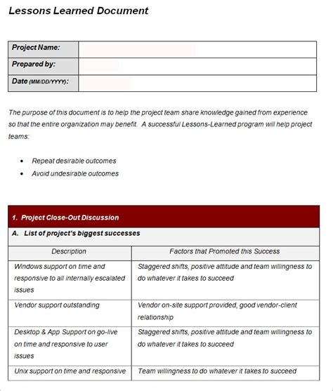 lessons learned template 3 lesson learned templates word excel pdf free premium templates