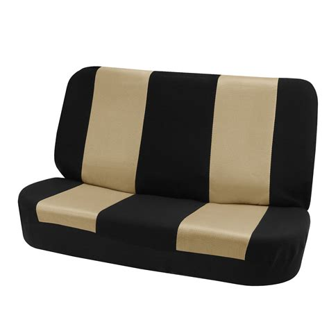 Fh Group Fhfb102010 Classic Cloth Bench Seat Covers Beige