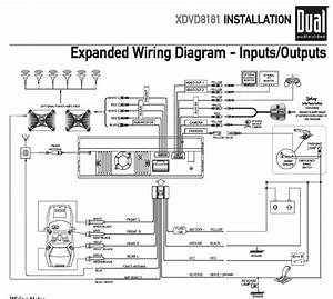 Car Head Unit Wiring Diagram