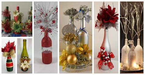 aprende c 243 mo decorar botellas de vidrio recicladas para navidad cositasconmesh