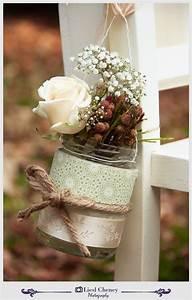 10 rustic wedding ideas using mason jars With decorations with mason jars for a wedding