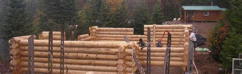 techniques pour constructions en bois rond