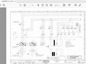 Liebherr 112 140 Ec H Tower Cranes Electrical Diagram 4005 21731