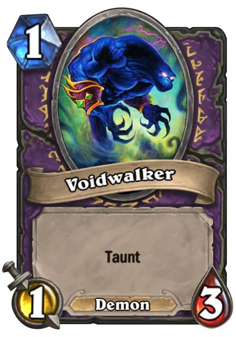 Basic Warlock Deck Zoo by Voidwalker Hearthstone Card