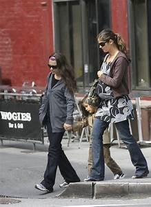 Jill Hennessy and family in West Village - Zimbio