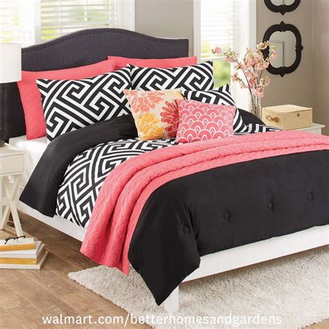 better homes and gardens 5 piece greek key bedding