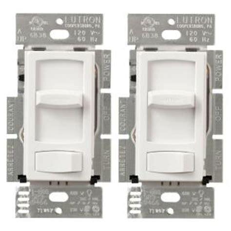 lutron skylark contour  watt single pole  cfl led dimmer white  pack  tool realm