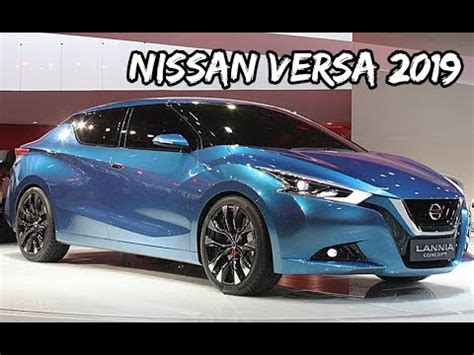 Novo Nissan Versa 2019 Nova Geração  Top Sounds Youtube