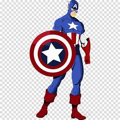 Captain America Cartoon Drawing Clipart Transparent Pngio