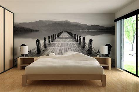 deco chambre papier peint papier peint design moderne et original izoa