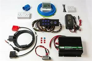 Full Electrical 12v  U0026 240v Camper Van Conversion Wiring