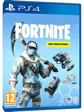 fortnite deep freeze bundle ps  code mmoga