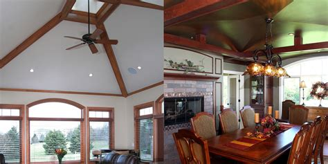 ceiling beams with recessed lights vaulted ceiling archives bartelt remodeling