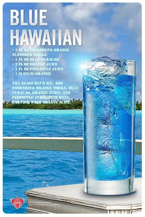 blue hawaiian drink recipe of the day get your drink in 2019 hawaiian drinks vodka
