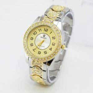 jual jam tangan rolex mata ring fullblack baru
