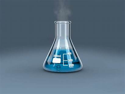 Flask Erlenmeyer Animated Gifs Moran Chemistry Beaker