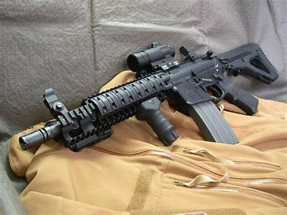 Assault Rifle M4 Colt Wallpapers Variant Fuzil