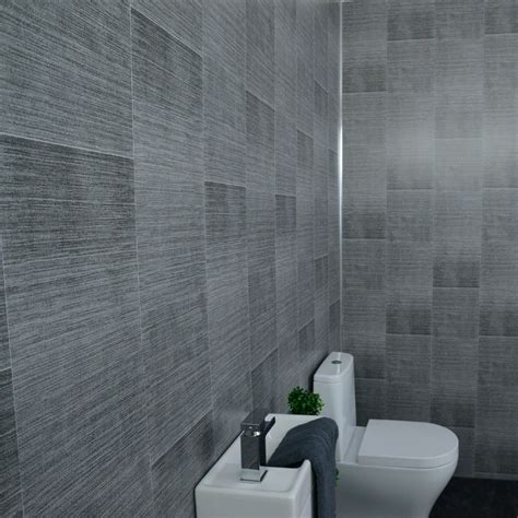 Tile Panels For Bathroom by Grey Bathroom Wall Panels Large Tile Effect Small