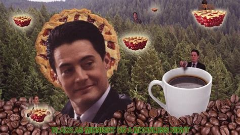 twin peaks coffee wallpaper