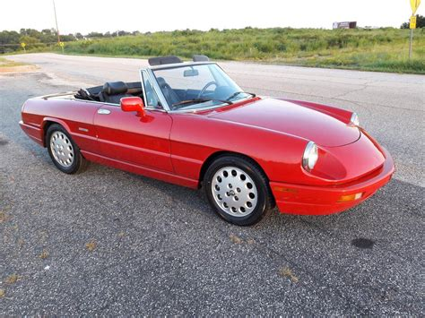 1993 Alfa Romeo Spider For Sale by 1993 Alfa Romeo Spider For Sale 1868944 Hemmings Motor News