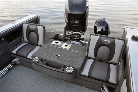 New Lund Boat Seats by Lund Boats Aluminum Fishing Boats 1900 Tyee