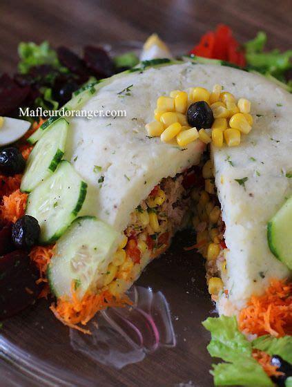 cuisine plus maroc salade composée salades originales et