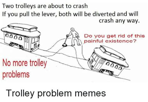 Trolley Problem Memes - 25 best memes about trolley problem trolley problem memes