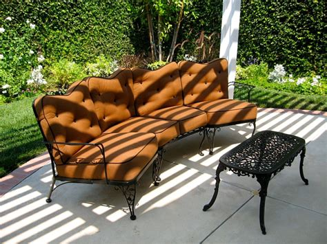 Gloster Patio Furniture Los Angeles by Custom Outdoor Furniture Cushions Custom Cushions Los