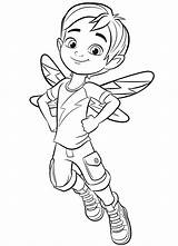 Cafe Coloring Jasper Butterbean Pages Butterbeans Printable Fairy Cricket Cartoon Boy Sheets Babyhouse Info Books sketch template