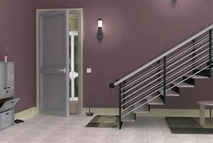 decoration peinture entree maison With photo deco terrasse exterieur 8 deco peinture couloir entree