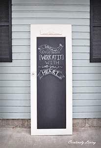 Quick Tip #26: Old Doors As Chalkboards – The Design Tabloid