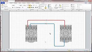 Visio 2010 Connectors And Connection Points Tutorial - Wiring Diagrams