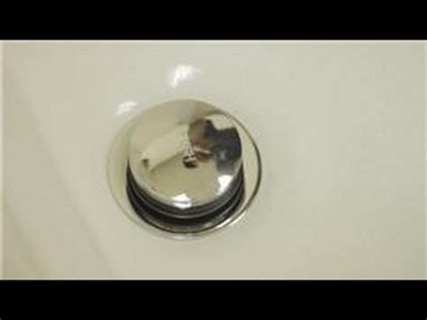 push to pop up sink stopper is stuck down bathroom repair how to repair a pop up tub drain stopper