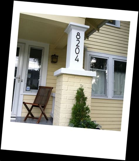 Bungalow House Numbers Myideasbedroomcom