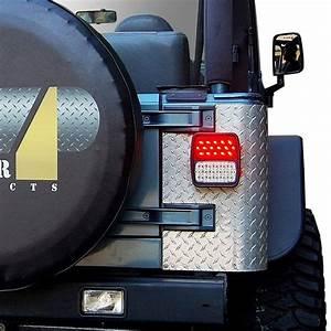 Jeep Tj Led Tail Lights Lens U0026bulb Covers
