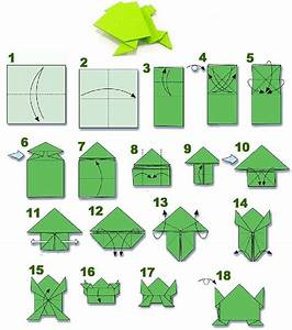 How To Fold An Origami Frog Tutorial  Visit