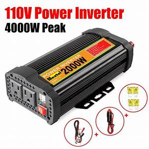 2000w Modified Sine Wave Converter Solar Power Inverter