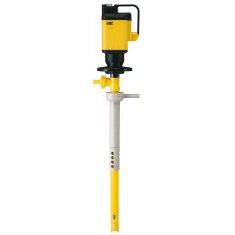 Choisir les bons accessoires pour votre installation en est une autre ! Pompe mélangeuse LUTZ pour fût ou IBC-GRV cuve 1000l pour produits corrosifs