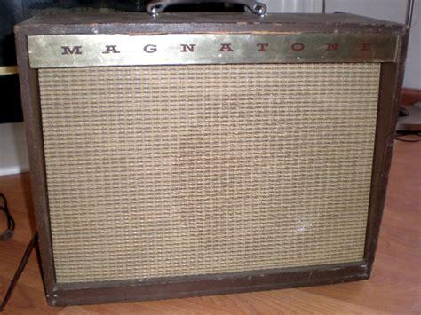 1960's Magnatone Custom 250 Guitar Amplifier